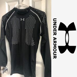 Under armour heat gear compression black shirt
